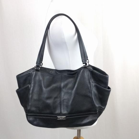 Coach Handbags - Coach Park Leather Carrie Tote Handbag Shoulder 70dfeca1d600b